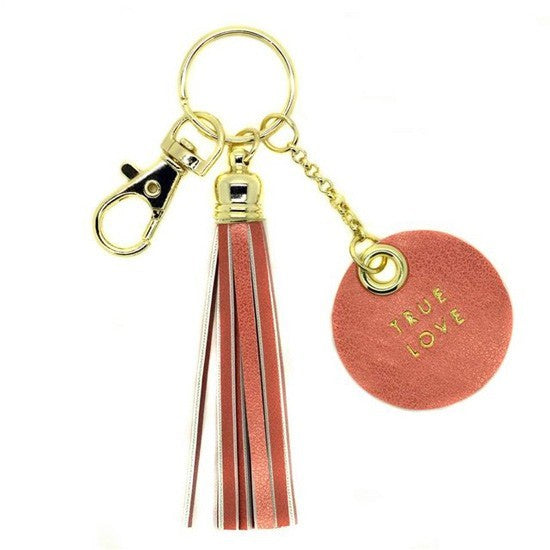 Tassel key chain - True love