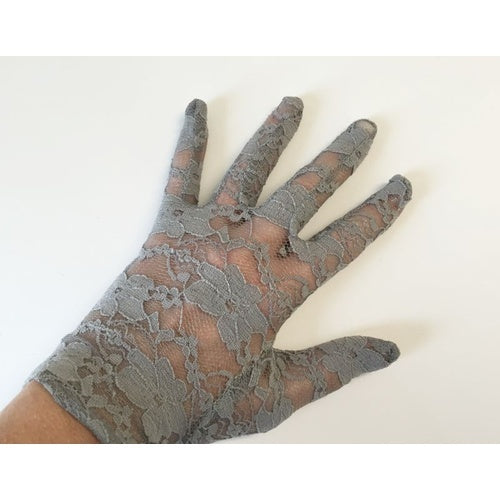 Gloves // Full Lace // Grey