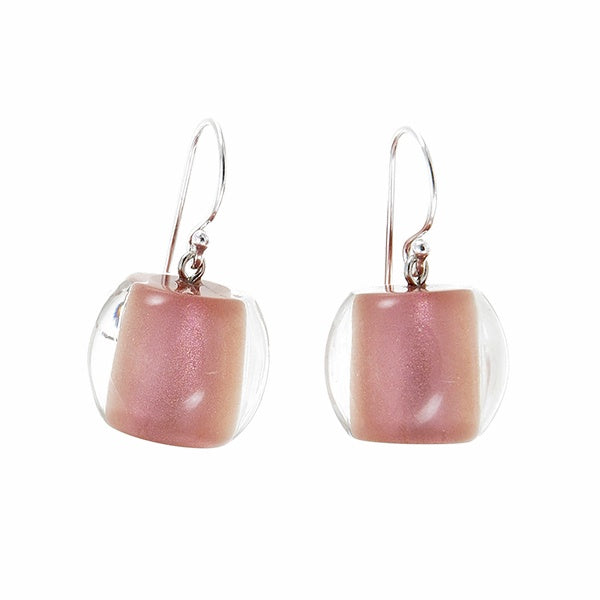Zsiska // Earrings // Colourful Beads Rose Gold
