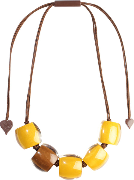 Zsiska // Necklace // Bellissima Yellow