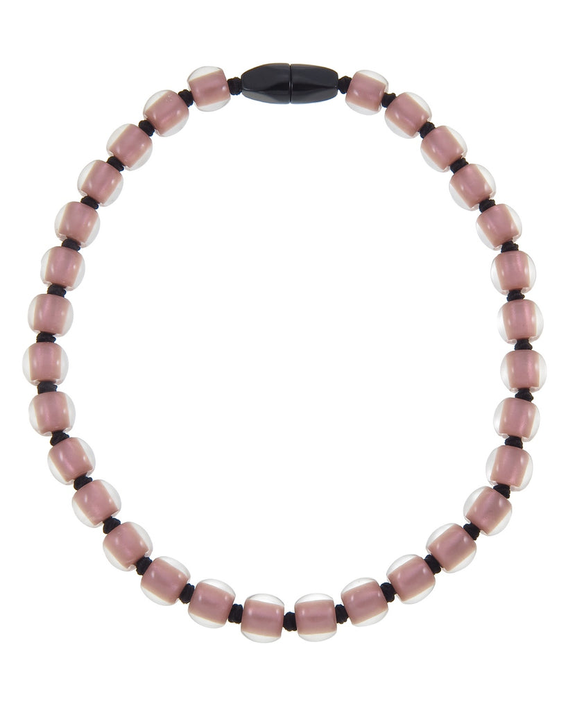 Zsiska // Necklace // Colourful Beads Rose Gold