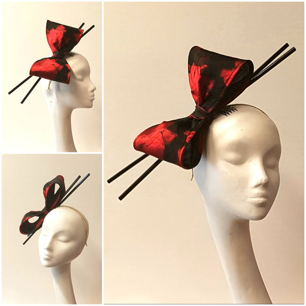 Anél // Headpiece // Oriental Bow