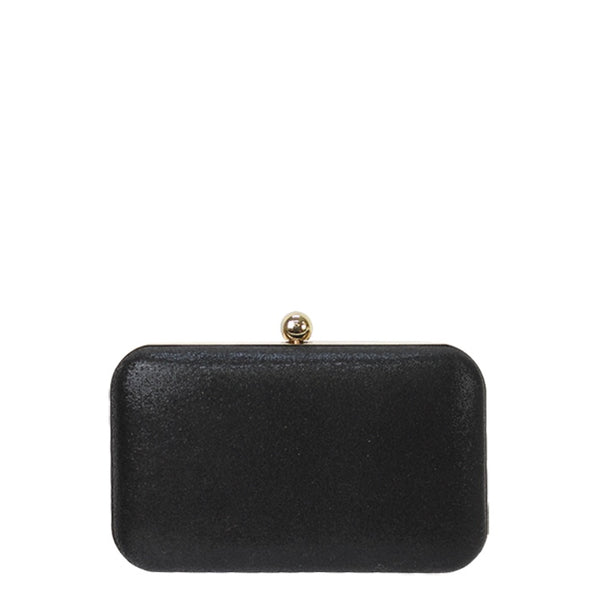 Jendi // Clutch // Black Sheen