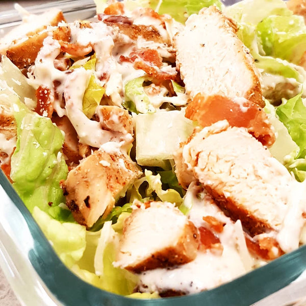 A Steady Diet Of Chicken Caesar Salad