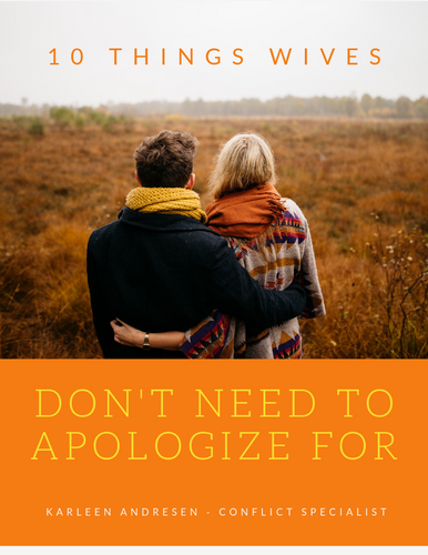 10 Things Wives Don't Need To Apologize For