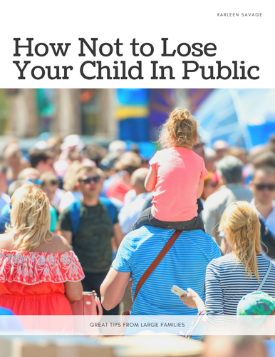 How Not To Lose Your Child in Public