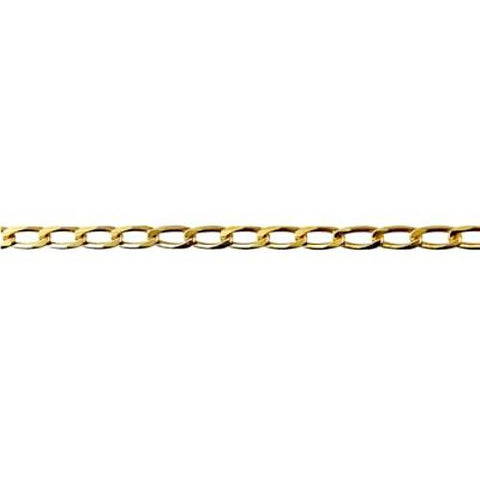 9ct Yellow Gold Oval Link Chain