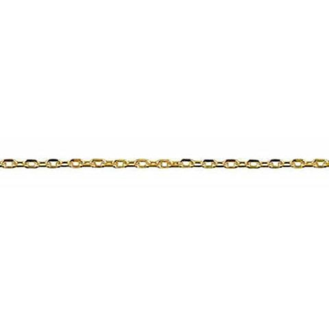 9ct Yellow Gold Cable Link Chain
