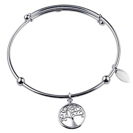 Sterling Silver 'Tree of Life'  Bangle