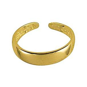 9ct Yellow Gold Toe ring