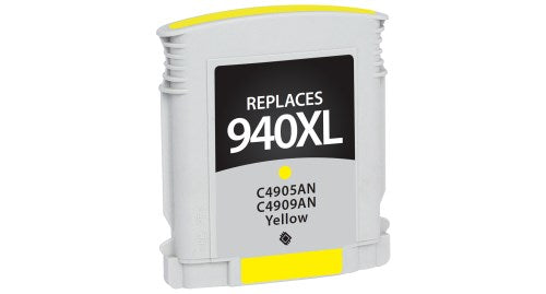 HP C4909AN (HP 940XL) Yellow Inkjet Cartridge-Ink-Blue Fox Group Printer Supply Store