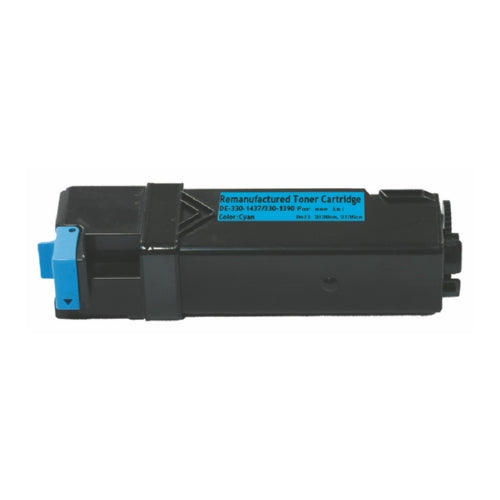 Dell 330-1437 High Capacity Cyan Laser Toner Cartridge - Blue Fox Group