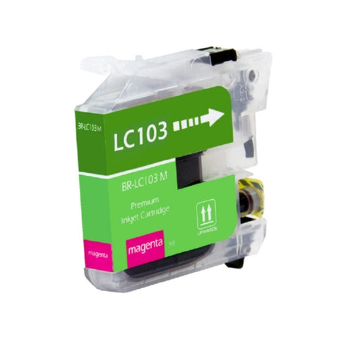 Brother LC103M, LC101M High Yield Magenta Inkjet Cartridge - Blue Fox Group