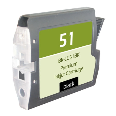 Brother LC51BK Black Inkjet Cartridge - Blue Fox Group