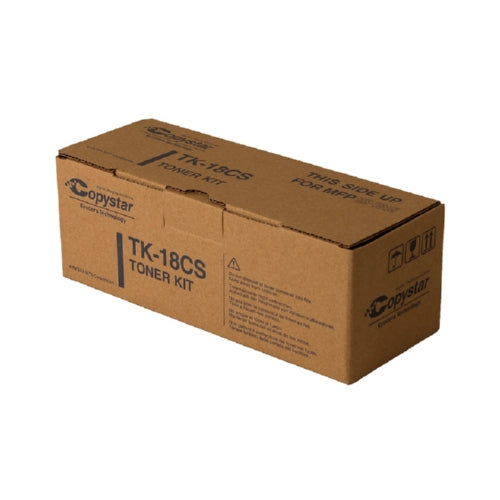 Kyocera Mita TK17 TK-17) and Copystar 370QB012 TK18 TK-18CS) Black Toner Cartridge 7.2K YLD)-Toner-Blue Fox Group Printer Supply Store