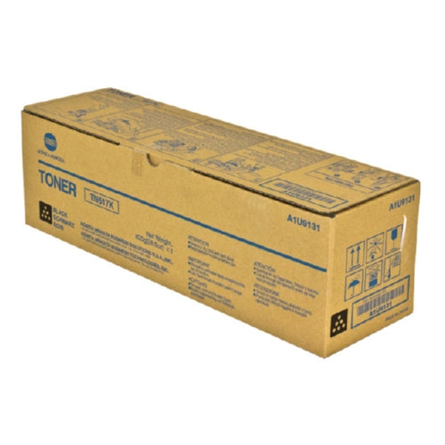 Konica Minolta A1U9131 TN-617K OEM Black Toner Cartridge 41.5K YIELD-Toner-Blue Fox Group Printer Supply Store