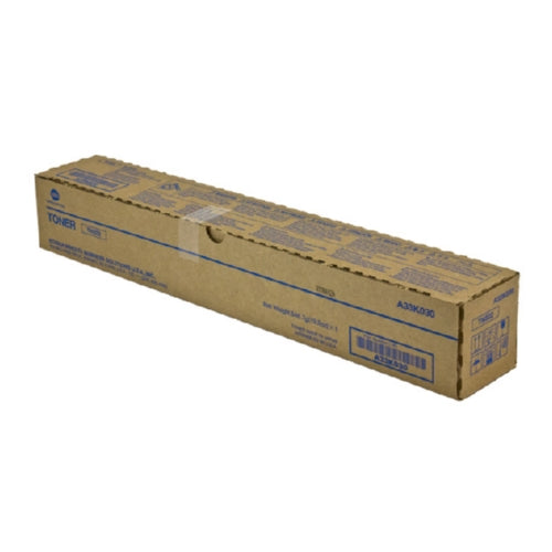 Konica Minolta A33K030 OEM Black Toner Cartridge, 24K YIELD-Toner-Blue Fox Group Printer Supply Store