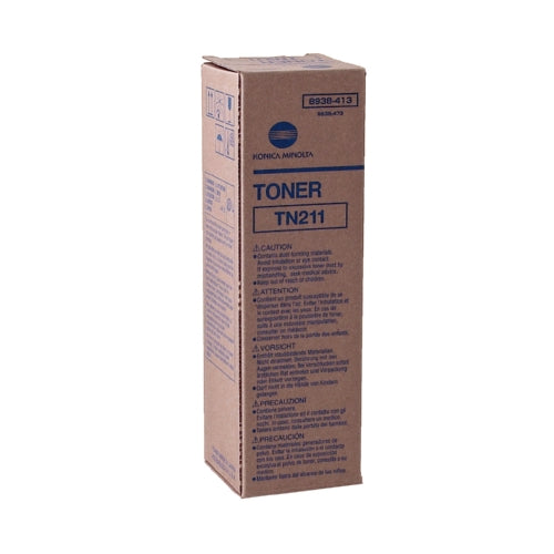 Konica Minolta 8938-413 TN211 Standard Black Toner-Toner-Blue Fox Group Printer Supply Store