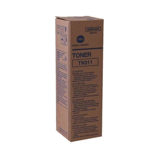Konica Minolta 8938-402 TN311 Standard Black Toner-Toner-Blue Fox Group Printer Supply Store