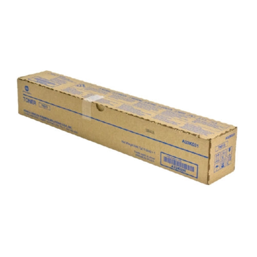 Konica Minolta A33K031 OEM Black Toner Cartridge, 24K YIELD-Toner-Blue Fox Group Printer Supply Store