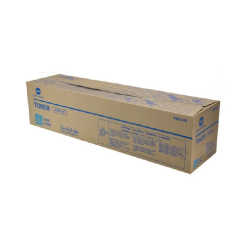 Konica Minolta TN-711C OEM Cyan Toner Cartridge, 31.5K YIELD-Toner-Blue Fox Group Printer Supply Store