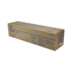 Konica Minolta TN-711Y OEM Yellow Toner Cartridge, 31.5K YIELD-Toner-Blue Fox Group Printer Supply Store