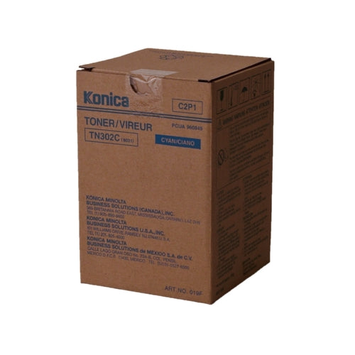 Konica Minolta 960-849 TN302C Standard Cyan Toner-Toner-Blue Fox Group Printer Supply Store
