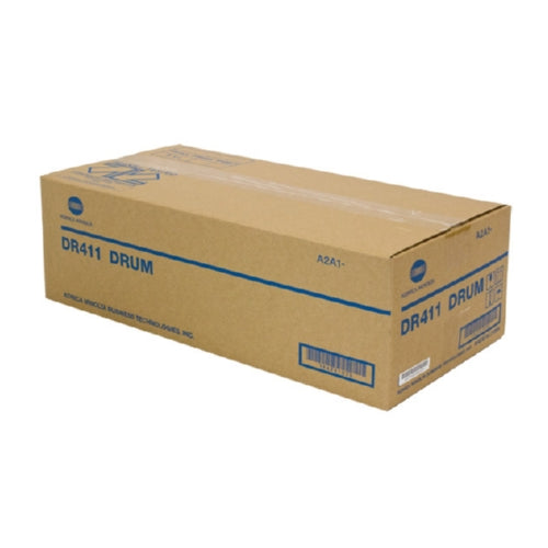 Konica Minolta DR411 OEM Black Drum Cartridge, 80K - 121K YIELD-Drum/Imaging-Blue Fox Group Printer Supply Store
