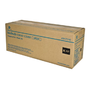 Konica Minolta A3GP01D OEM Black Drum Cartridge, 60K YIELD-Drum/Imaging-Blue Fox Group Printer Supply Store