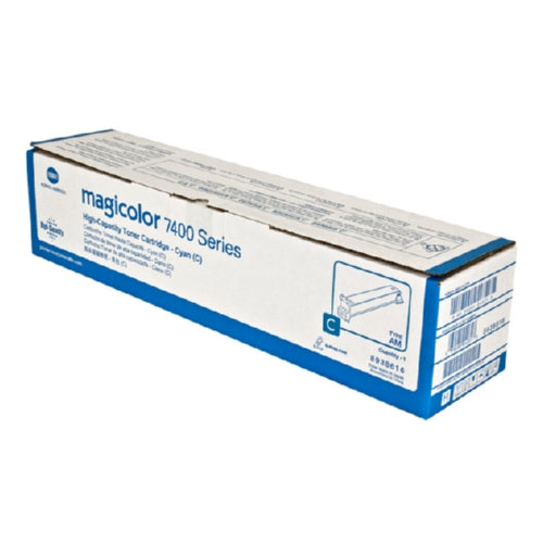 Konica Minolta 8938-616 Standard Yield Cyan Toner-Toner-Blue Fox Group Printer Supply Store
