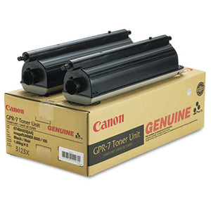 OEM toner cartridge for Canon IR85 105 8500 9070 GPR-7) produces 36600 pages at 6% coverage.-Toner-Blue Fox Group Printer Supply Store
