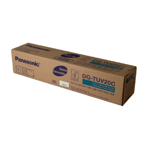 Genuine Panasonic DQTUV20C Standard Yield Cyan Toner-Toner-Blue Fox Group Printer Supply Store