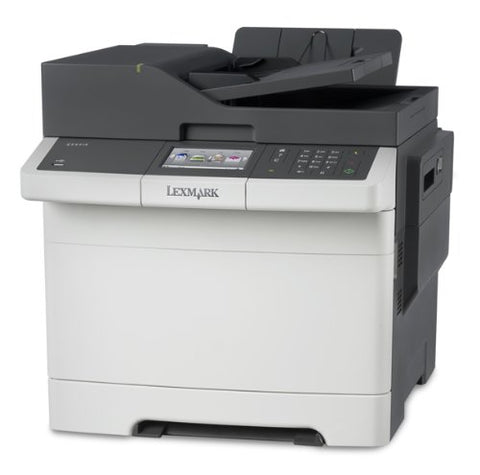 Image of Lexmark CX417de Color All-in One Laser Printer with Scan, Copy, Network Ready, Duplex Printing and Professional Features