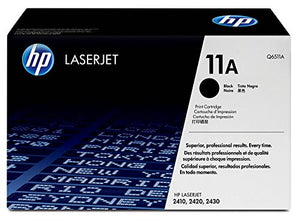 HP 11A (Q6511A) Black Original LaserJet Toner Cartridge
