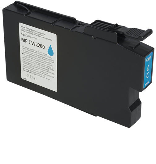 Ricoh MP CW2200 100ml Cyan ink cartridge-Ink-Blue Fox Group Printer Supply Store