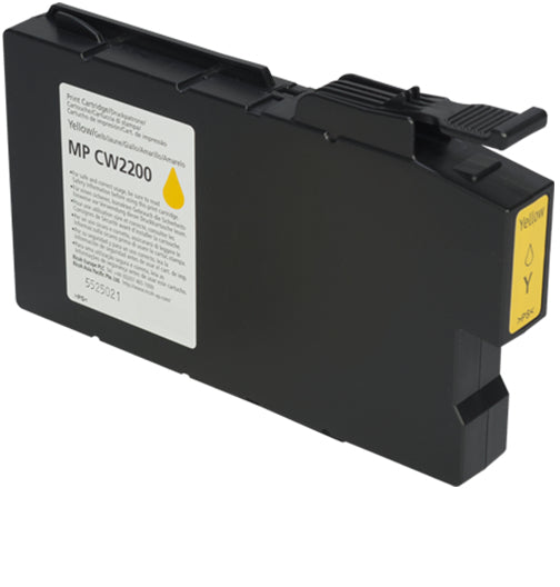 Ricoh MP CW2200 100ml Yellow ink cartridge-Ink-Blue Fox Group Printer Supply Store