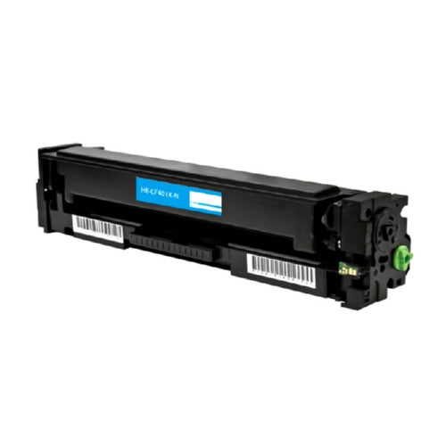 HP CF401X (HP 201X) Cyan High Yield Toner Cartridge-Toner-Blue Fox Group Printer Supply Store