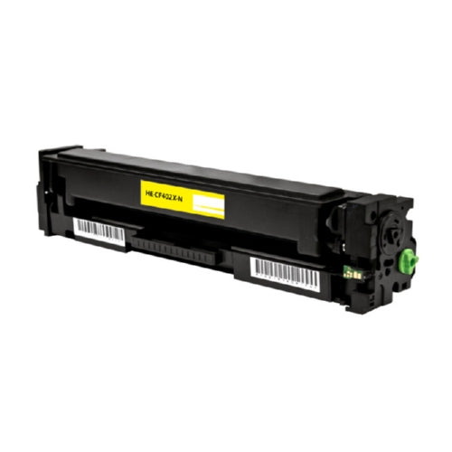 HP CF402A (HP 201A) Yellow Toner Cartridge-Toner-Blue Fox Group Printer Supply Store