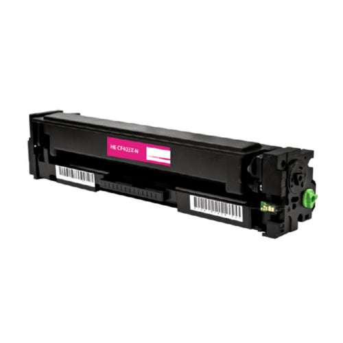 HP CF403X (HP 201X) Magenta High Yield Toner Cartridge-Toner-Blue Fox Group Printer Supply Store