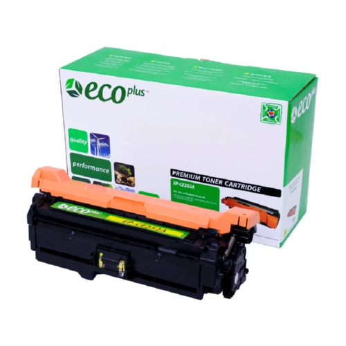 HP CE252A (HP 504A) Yellow Toner Cartridge-Toner-Blue Fox Group Printer Supply Store
