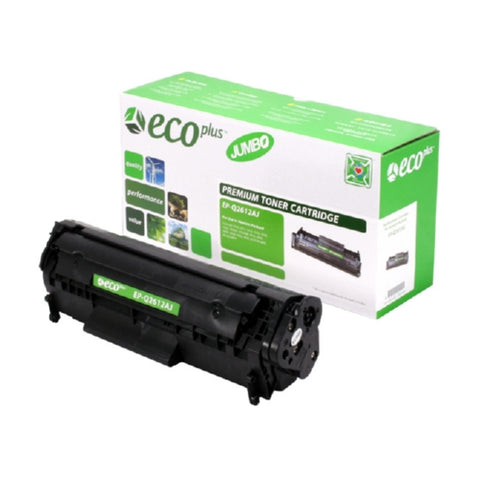 HP Q2612A (HP 12A) Black Toner Cartridge-Toner-Blue Fox Group Printer Supply Store