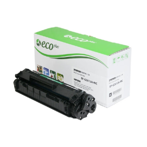 HP Q2612A (HP 12A) Compatible Black MICR Toner Cartridge-MICR-Blue Fox Group Printer Supply Store