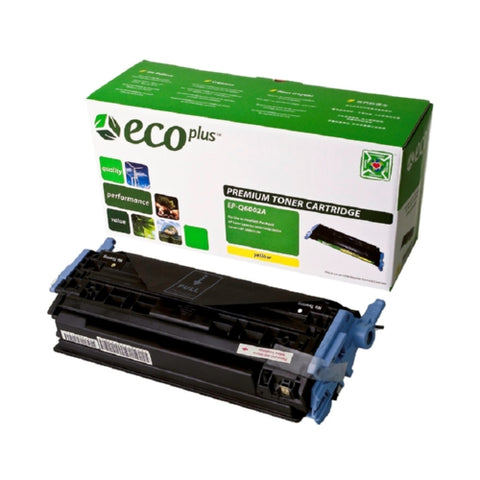 HP Q6002A (HP 124A) Yellow Toner Cartridge-Toner-Blue Fox Group Printer Supply Store
