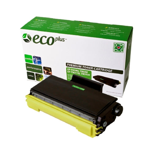 EcoPlus Black Toner Cartridge compatible with the Brother TN550-Toner-Blue Fox Group Printer Supply Store