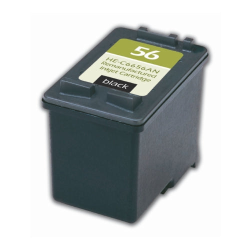 HP C6656AN (HP 56) Black Inkjet Cartridge-Ink-Blue Fox Group Printer Supply Store
