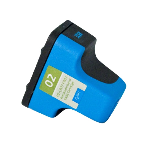 HP C8771WN (HP 02) Cyan Inkjet Cartridge-Ink-Blue Fox Group Printer Supply Store