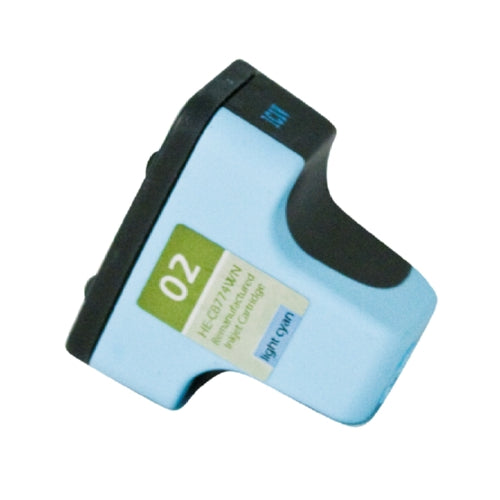 HP C8774WN (HP 02) Light Cyan Inkjet Cartridge-Ink-Blue Fox Group Printer Supply Store