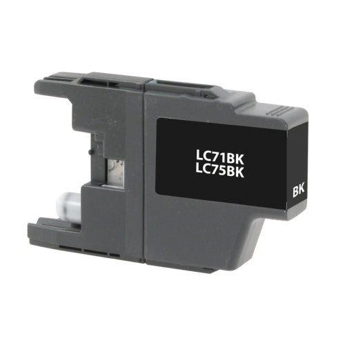 Brother LC75BK Black Inkjet Cartridge - Blue Fox Group