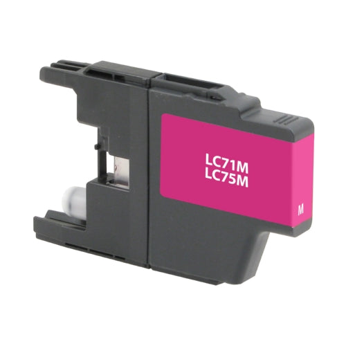 Brother LC75M Magenta Inkjet Cartridge - Blue Fox Group