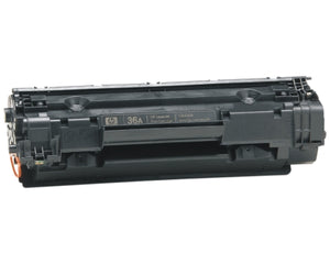 HP CB436A (HP 36A) Black Toner Cartridge-Toner-Blue Fox Group Printer Supply Store